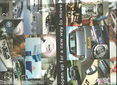 MG ZR Rover City Streetwise Brochure with Original Envelope & Letter (Sealed)