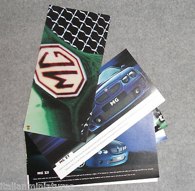 MG ZT ZS ZR Preview Launch Brochure English Language 10 Page