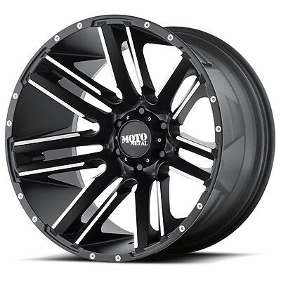 20 Inch Black Wheels Rims Lifted Ford Truck F 150 F150 Expedition 6x135 20x10
