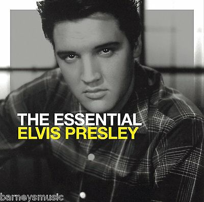 ELVIS PRESLEY ( NEW SEALED 2 x CD SET ) THE ESSENTIAL GREATEST HITS / VERY BEST