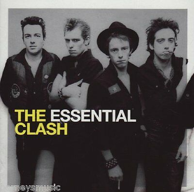 THE CLASH ( NEW SEALED 2 x CD SET ) THE ESSENTIAL GREATEST HITS / VERY BEST