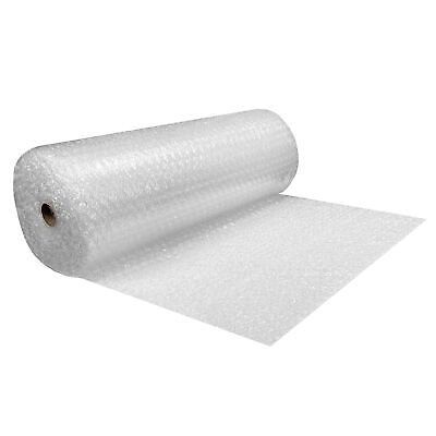 "Bubble Roll Wrap - 48"" Wide x 65' - Large Bubbles 1/2"" Perforated 12"""