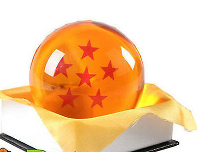 "Dragon Ball DragonBall Z Crystal Ball 6 Star Diameter 3""/7.5cm Ball New in Box"