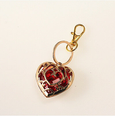 The Legend of Zelda Skyward Sword Red Heart Container Keychain keyring Pendant