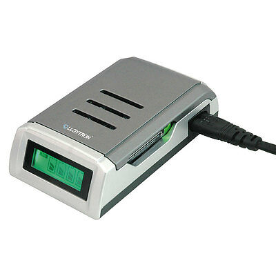 NEW Lloytron Fast Ni-Mh Intelligent LCD AA and AAA Battery Charger