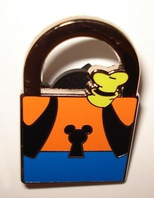 Disney Pin Trading Walt Disney World PWP Collection Goofy Lock Pin Mickey Friend