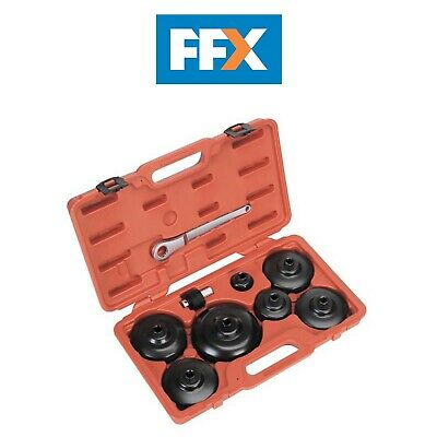 Sealey VS7007 Oil Filter Cap Wrench Set 9pc - Commercials