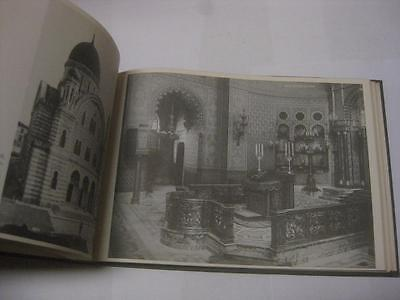 The Architecture of The European Synagogue by Rachel Wischnitzer ILLUSTRATED
