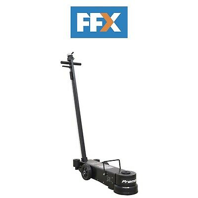 Sealey YAJ20-60LR Air Operated Jack 60tonne Telescopic - Long Reach Low Entry