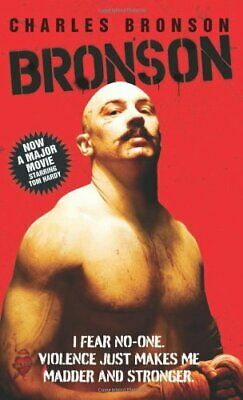 Bronson by Charles Bronson Paperback Book The Cheap Fast Free Post