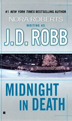 Midnight in Death by Robb, J. D. Paperback Book The Cheap Fast Free Post