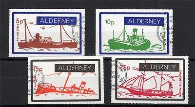 Alderney Packet Ships Set Used