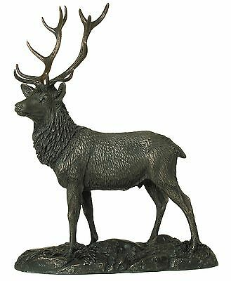 Genesis Stag Bronze Figurine NEW in Gift box - 27075