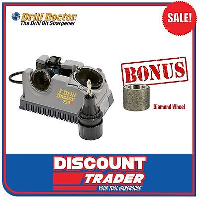 Drill Doctor Drill Bit Sharpener Tradesman 750X Plus Bonus - DD750X+DA31320GF