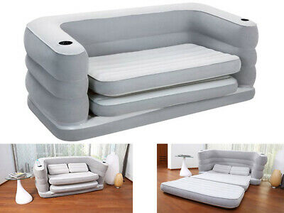 Stupendous Bestway Multi Max Ii Inflatable Sofa Couch Double Air Bed Ocoug Best Dining Table And Chair Ideas Images Ocougorg