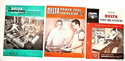 DELTA Milwaukee POWER TOOL INSTRUCTOR: for schools Journal Manual Book #RR25