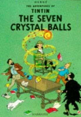 Seven Crystal Balls (The Adventures of Tintin) by Herge Paperback Book The Cheap