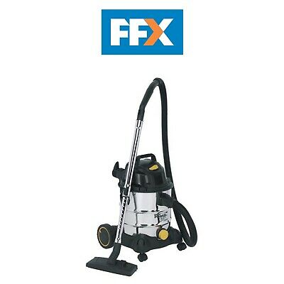 Sealey PC200SD 110v 1250w Vacuum Cleaner Industrial Wet and Dry 20ltr Stainless
