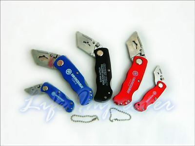 Folding Utility Pocket Lock Back Trimming Cut Stanley Blade Holder Knife HANDLE