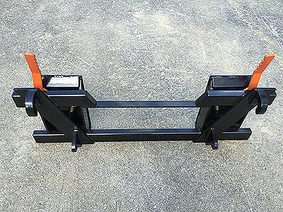Euro to Skid Steer Quick Attach Adapter- Mount Converter