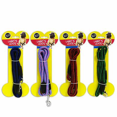 Rope Dog Lead 1.2m Blue Green Pink/Purple or Red