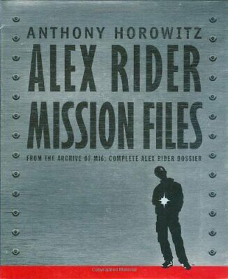 Alex Rider: The Mission Files by Horowitz, Anthony Hardback Book The Cheap Fast