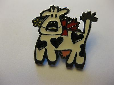 Cow Pin Back New
