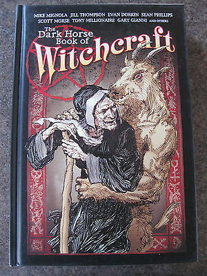 Dark Horse Book of witchcraft HARD COVER first edition