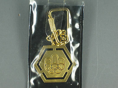 Montreal 21 Olympiad Official Logo Key Ring Key Chain