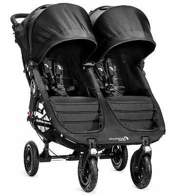 Baby Jogger City Mini GT Double Twin All Terrain Stroller Black NEW 2016