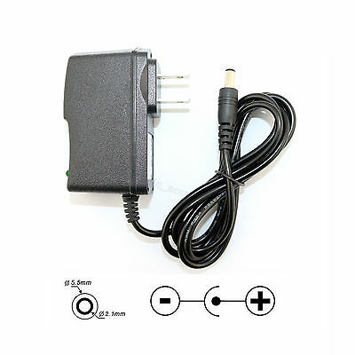 AC / DC 12V 1A Power Supply Adapter 2.1x5.5mm Plug For LED Strip CCTV Router USA