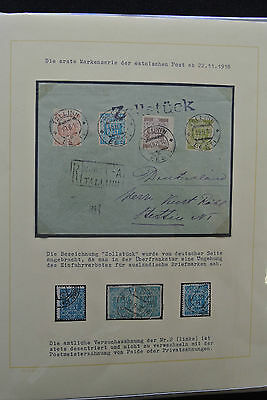 Lot 25293 Collection stamps of Estonia 1918-1940.