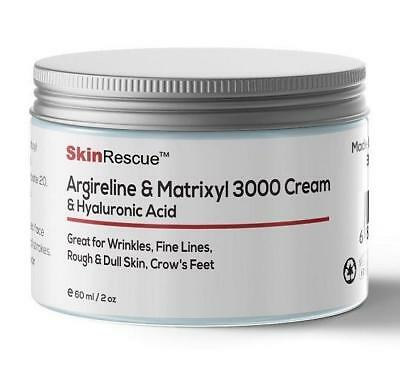 50ml ARGIRELINE MATRIXYL PEPTIDE CREAM HYALURONIC ANTI-AGING WRINKLES REPAIR NEW