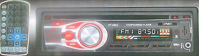 Brand New Onix Car Stereo CD Player/MP3/USB