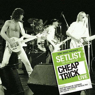 Cheap Trick - Setlist: The Very Best of Cheap Trick Live