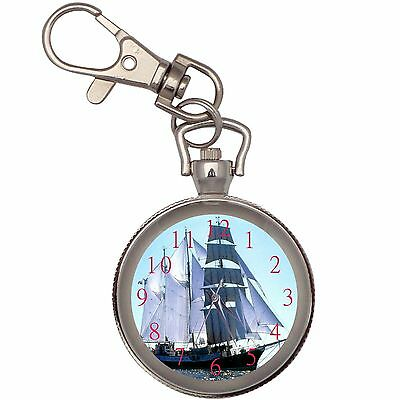 New Atlantis Key Chain Keychain Pocket Watch