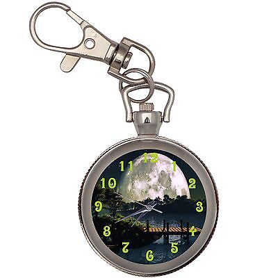 New Shine On Key Chain Keychain Pocket Watch