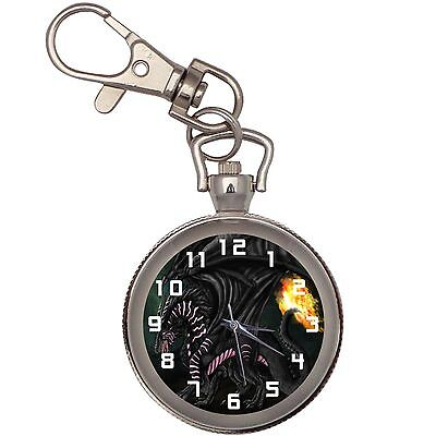 New Fire Dragon Key Chain Keychain Pocket Watch
