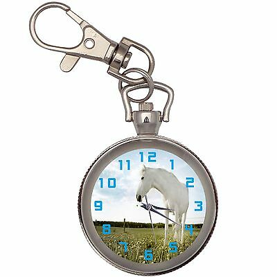 New Horse On The Plain Key Chain Keychain Pocket Watch