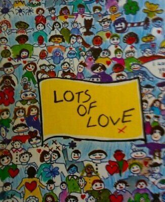 Lots of Love by Newman, Nanette Hardback Book The Cheap Fast Free Post