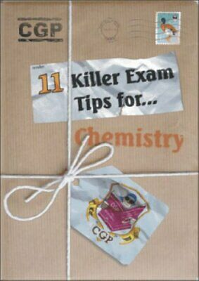 Chemistry Killer Exam Tips (Top Tips S.) by CGP Books Paperback Book The Cheap