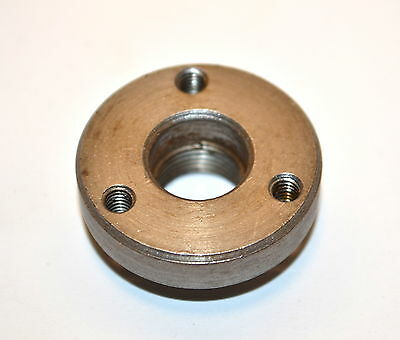 NOS UNIMAT SL DB Lathe 3 Jaw Chuck BACK PLATE 3 Hole 30mm Diameter #WL13.4.8