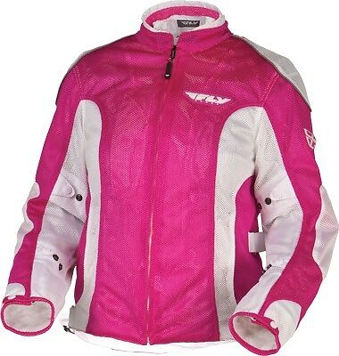 Fly Racing Coolpro II Ladies Mesh Jacket Pink