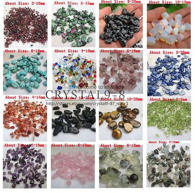 100g Mini Chips UNDRILLED Embellishments *Red Crystal/ Radiant Opal & More!!