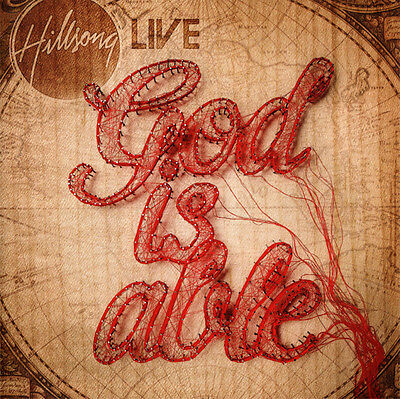 Hillsong • Live • God Is Able CD 2011 Sparrow Records •• NEW ••