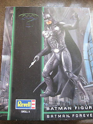 DC Revell 1:6th Scale Batman Forever BATMAN Figure Kit ALREADY ASSEMBLED