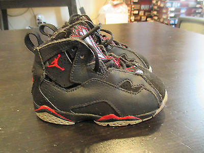 the latest 1ae78 b153b Nike Jordan 7 Retro Raptors Toddler Size 5.5c Boys Girls 5.5 C Air Jordan  Black