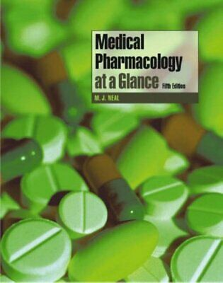 Medical Pharmacology at a Glance, Neal, Michael J. Paperback Book The Cheap Fast