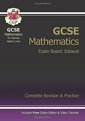 GCSE Maths Edexcel Complete Revision & Practice with online edit... by CGP Books