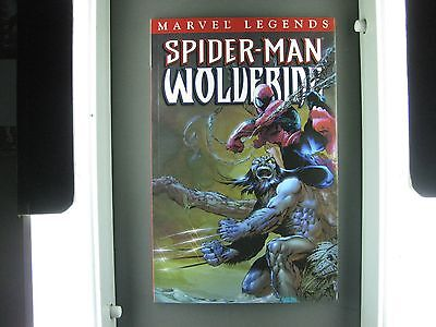 Marvel Legends  Spider-Man Wolverine Tpb Condition Mint